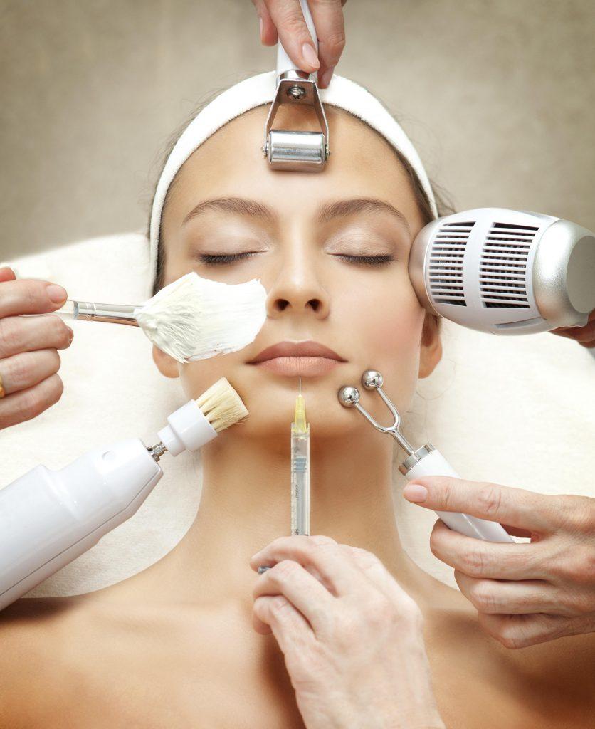 La aparatología estética en los tratamientos faciales