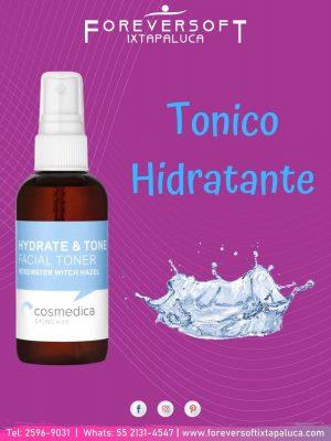 Tónico hidratante para equilibrar el pH de nuestra piel